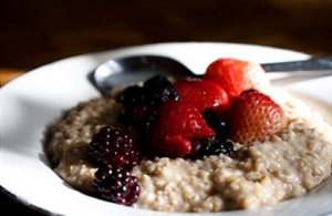 Berries and oats