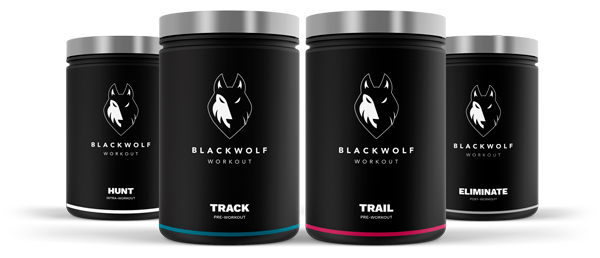 Black Wolf Workout Packs
